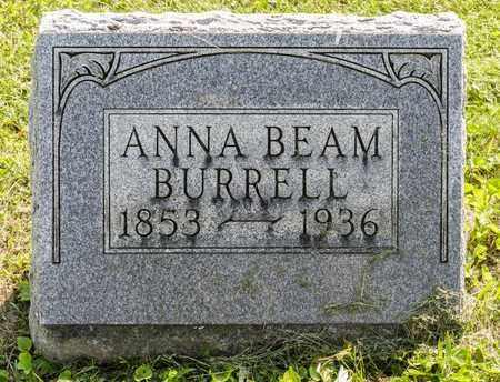 BEAM BURRELL, ANNA - Wayne County, Ohio   ANNA BEAM BURRELL - Ohio Gravestone Photos