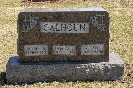 CALHOUN, B. JANE - Wayne County, Ohio | B. JANE CALHOUN - Ohio Gravestone Photos