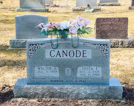 CANODE, VESTA I. - Wayne County, Ohio | VESTA I. CANODE - Ohio Gravestone Photos