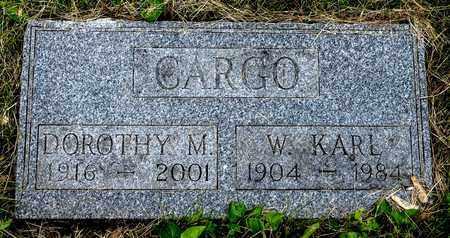 CARGO, DOROTHY M. - Wayne County, Ohio   DOROTHY M. CARGO - Ohio Gravestone Photos