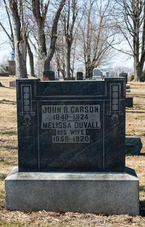 CARSON, MELISSA - Wayne County, Ohio | MELISSA CARSON - Ohio Gravestone Photos