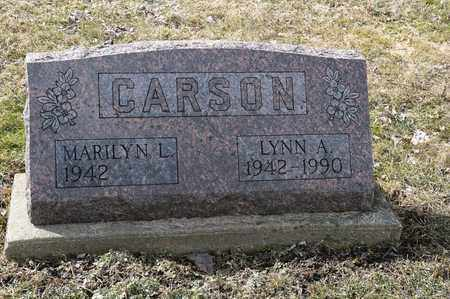 CARSON, LYNN A. - Wayne County, Ohio   LYNN A. CARSON - Ohio Gravestone Photos