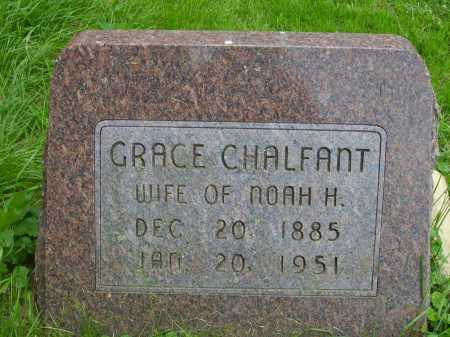 CHALFANT, GRACE - Wayne County, Ohio | GRACE CHALFANT - Ohio Gravestone Photos