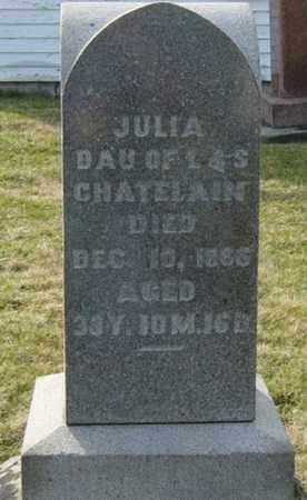 CHATELAIN, JULIA - Wayne County, Ohio | JULIA CHATELAIN - Ohio Gravestone Photos