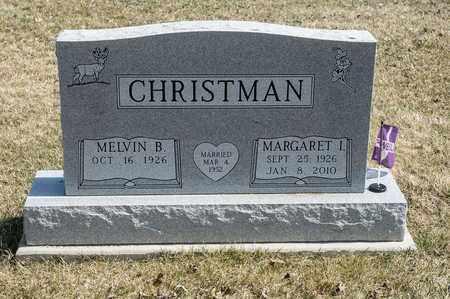 CHRISTMAN, MARGARET I. - Wayne County, Ohio | MARGARET I. CHRISTMAN - Ohio Gravestone Photos