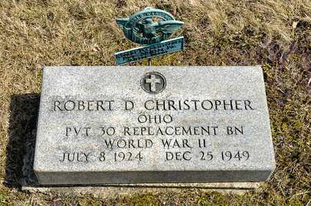 CHRISTOPHER, ROBERT D. - Wayne County, Ohio | ROBERT D. CHRISTOPHER - Ohio Gravestone Photos