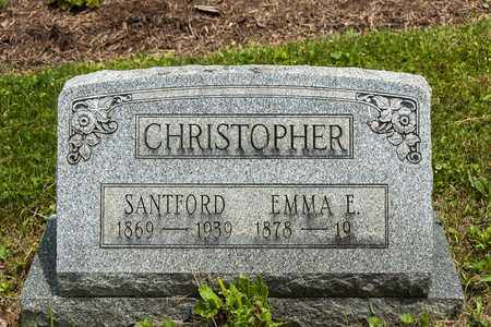 CHRISTOPHER, EMMA E. - Wayne County, Ohio | EMMA E. CHRISTOPHER - Ohio Gravestone Photos