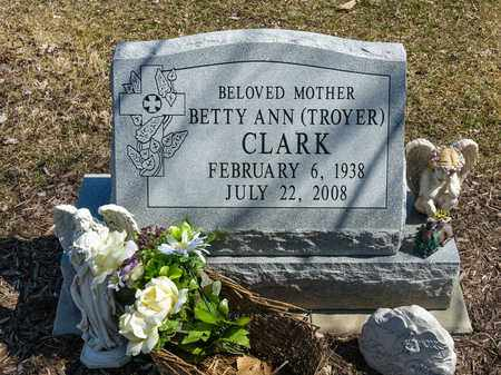 CLARK, BETTY ANN - Wayne County, Ohio | BETTY ANN CLARK - Ohio Gravestone Photos