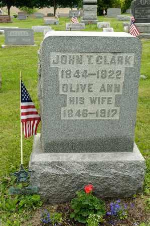 CLARK, JOHN T. - Wayne County, Ohio | JOHN T. CLARK - Ohio Gravestone Photos