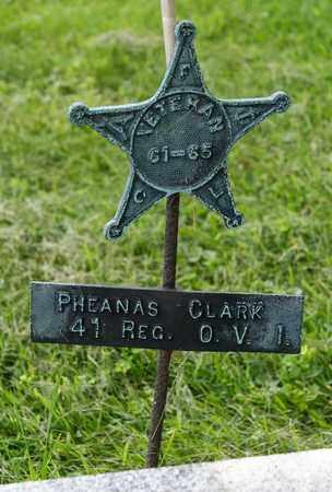 CLARK, PHEANAS - Wayne County, Ohio | PHEANAS CLARK - Ohio Gravestone Photos