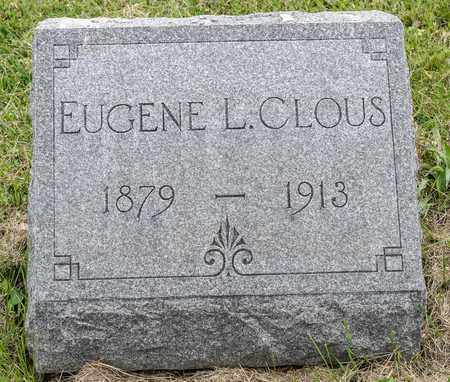CLOUS, EUGENE L. - Wayne County, Ohio | EUGENE L. CLOUS - Ohio Gravestone Photos