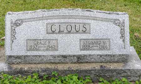 CLOUS, LEONARD M. - Wayne County, Ohio | LEONARD M. CLOUS - Ohio Gravestone Photos