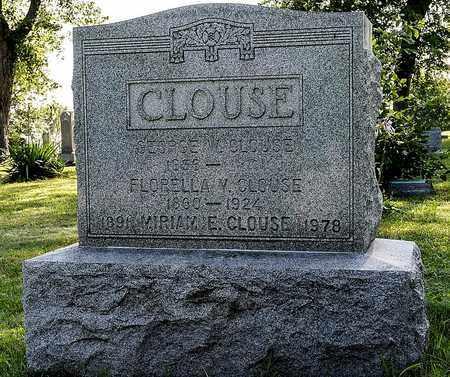 VINCENT CLOUSE, FLORELLA - Wayne County, Ohio | FLORELLA VINCENT CLOUSE - Ohio Gravestone Photos