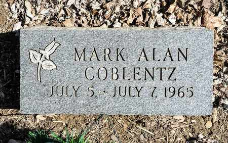 COBLENTZ, MARK ALAN - Wayne County, Ohio | MARK ALAN COBLENTZ - Ohio Gravestone Photos