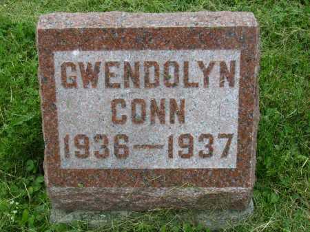 CONN, GWENDOLYN - Wayne County, Ohio | GWENDOLYN CONN - Ohio Gravestone Photos
