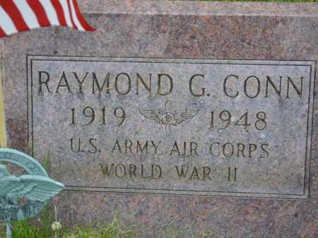 CONN, RAYMOND - Wayne County, Ohio   RAYMOND CONN - Ohio Gravestone Photos