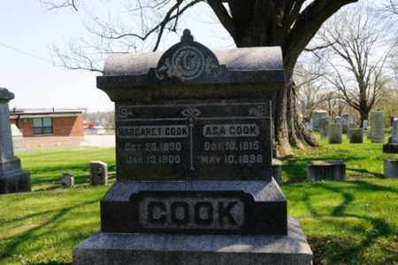 COOK, MARGARET - Wayne County, Ohio | MARGARET COOK - Ohio Gravestone Photos