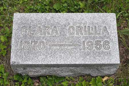 COOK, CLARA ORILLA - Wayne County, Ohio | CLARA ORILLA COOK - Ohio Gravestone Photos