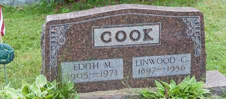 COOK, LINWOOD C. - Wayne County, Ohio | LINWOOD C. COOK - Ohio Gravestone Photos