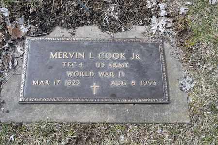 COOK, MERVIN L. - Wayne County, Ohio | MERVIN L. COOK - Ohio Gravestone Photos