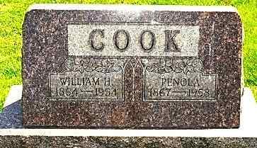 COOK, PENOLA - Wayne County, Ohio   PENOLA COOK - Ohio Gravestone Photos