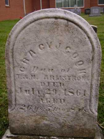 ARMSTRONG COON, GRACY J. - Wayne County, Ohio | GRACY J. ARMSTRONG COON - Ohio Gravestone Photos