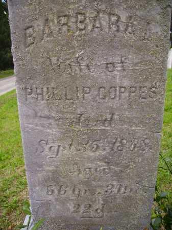 COPPES, BARBARA - CLOSE VIEW - Wayne County, Ohio | BARBARA - CLOSE VIEW COPPES - Ohio Gravestone Photos