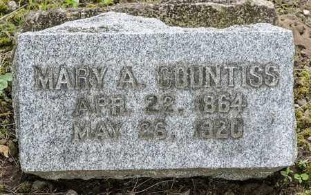 BEVINGTON COUNTISS, MARY A. - Wayne County, Ohio | MARY A. BEVINGTON COUNTISS - Ohio Gravestone Photos