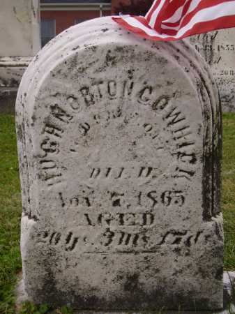 COWHICK, HUGH NORTON - Wayne County, Ohio | HUGH NORTON COWHICK - Ohio Gravestone Photos