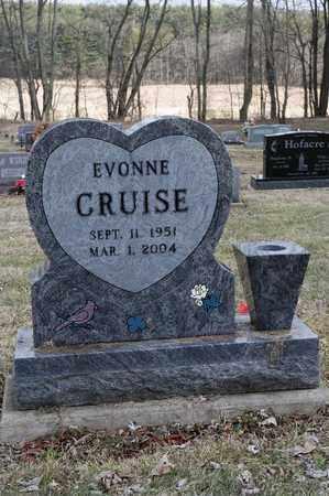 CRUISE, EVONNE - Wayne County, Ohio | EVONNE CRUISE - Ohio Gravestone Photos