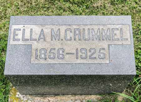 CRUMMEL, ELLA M. - Wayne County, Ohio | ELLA M. CRUMMEL - Ohio Gravestone Photos
