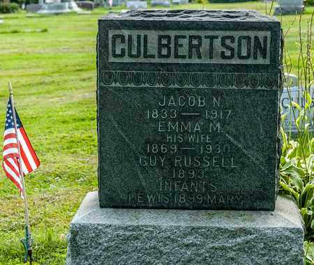 CULBERTSON, MARY - Wayne County, Ohio | MARY CULBERTSON - Ohio Gravestone Photos