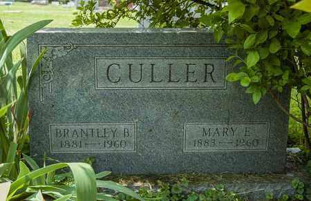 CULLER, BRANTLEY B. - Wayne County, Ohio | BRANTLEY B. CULLER - Ohio Gravestone Photos