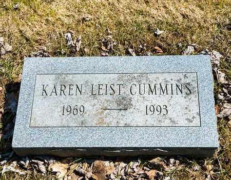 LEIST CUMMINS, KAREN - Wayne County, Ohio | KAREN LEIST CUMMINS - Ohio Gravestone Photos