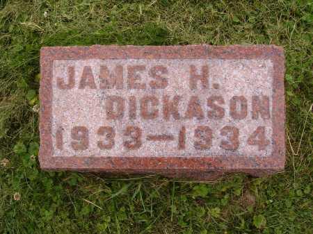 DICKASON, JAMES H. - Wayne County, Ohio | JAMES H. DICKASON - Ohio Gravestone Photos