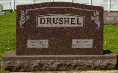 RICHESON DRUSHEL, MAUD MINNIE - Wayne County, Ohio | MAUD MINNIE RICHESON DRUSHEL - Ohio Gravestone Photos