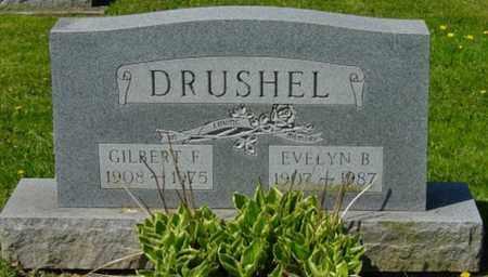 DRUSHEL, GILBERT F. - Wayne County, Ohio | GILBERT F. DRUSHEL - Ohio Gravestone Photos