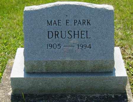 DRUSHEL, MAE E. - Wayne County, Ohio | MAE E. DRUSHEL - Ohio Gravestone Photos