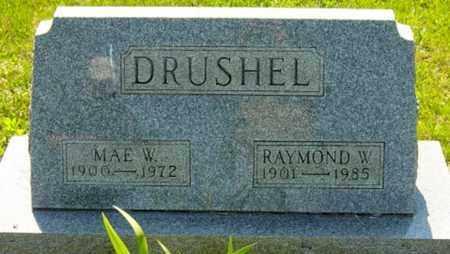 WEIMER DRUSHEL, MARGARET MAE - Wayne County, Ohio | MARGARET MAE WEIMER DRUSHEL - Ohio Gravestone Photos