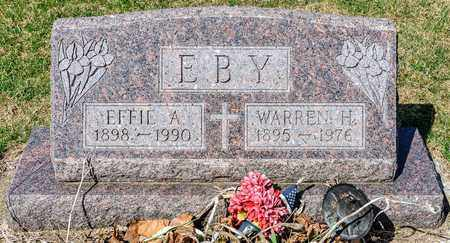 EBY, WARREN H - Wayne County, Ohio   WARREN H EBY - Ohio Gravestone Photos