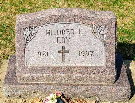 EBY, MILDRED F - Wayne County, Ohio | MILDRED F EBY - Ohio Gravestone Photos