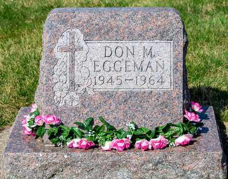 EGGEMAN, DON M - Wayne County, Ohio | DON M EGGEMAN - Ohio Gravestone Photos