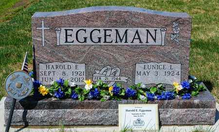 EGGEMAN, HAROLD E - Wayne County, Ohio   HAROLD E EGGEMAN - Ohio Gravestone Photos