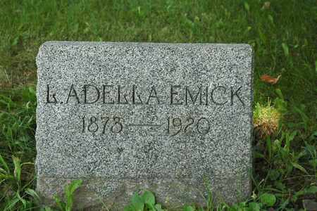 EMICK, L. ADELLA - Wayne County, Ohio | L. ADELLA EMICK - Ohio Gravestone Photos