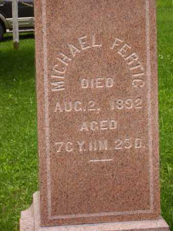 FERTIG, MICHAEL - CLOSEVIEW - Wayne County, Ohio | MICHAEL - CLOSEVIEW FERTIG - Ohio Gravestone Photos
