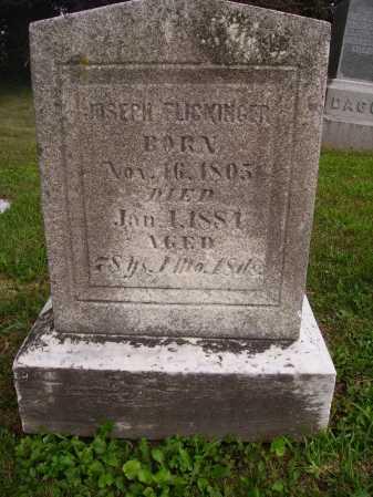 FLICKINGER, JOSEPH - Wayne County, Ohio   JOSEPH FLICKINGER - Ohio Gravestone Photos