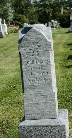 FRANKS, JACOB - Wayne County, Ohio | JACOB FRANKS - Ohio Gravestone Photos