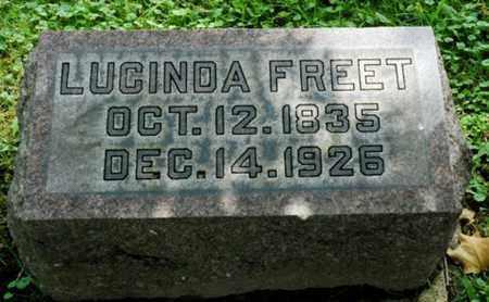HOUGHTON FREET, LUCINDA - Wayne County, Ohio | LUCINDA HOUGHTON FREET - Ohio Gravestone Photos