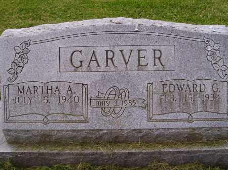 GARVER, MARTHA A. - Wayne County, Ohio | MARTHA A. GARVER - Ohio Gravestone Photos