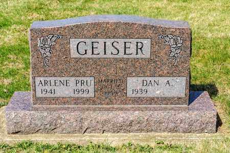 GEISER, ARLENE - Wayne County, Ohio | ARLENE GEISER - Ohio Gravestone Photos